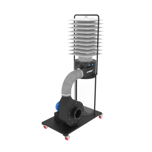 wood dust collector ( Single stage )