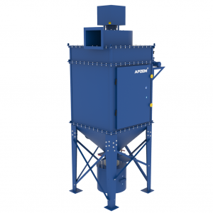 Pulse jet bag filter dust collector