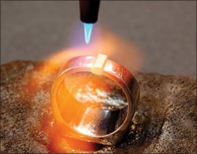 Gold welding