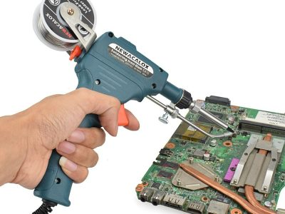 Gun soldering
